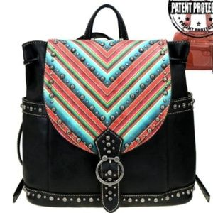 Montana West Aztec Serape Backpack